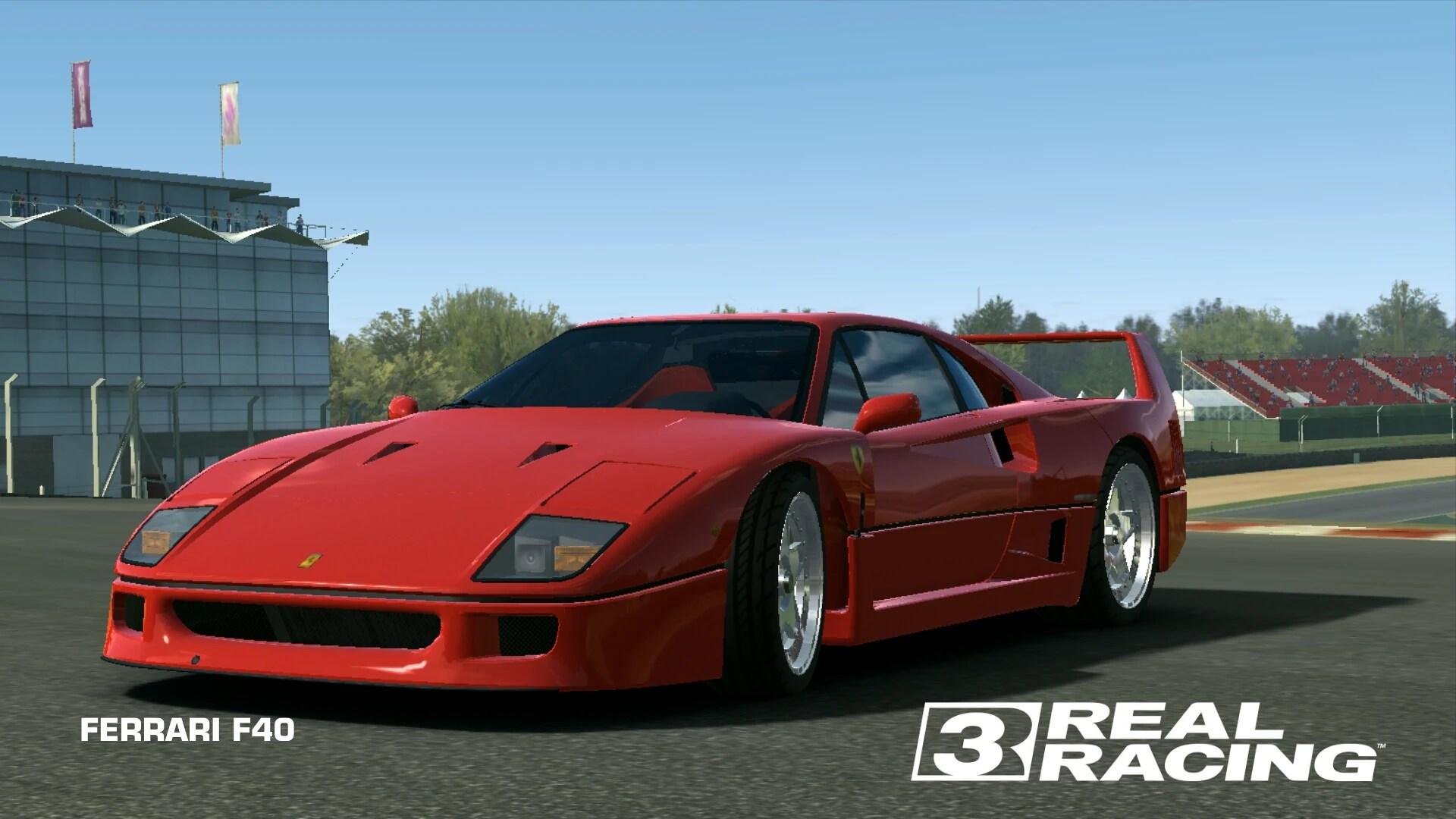 ferrari f40 real racing
