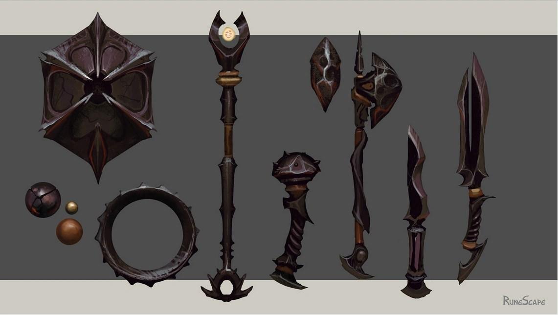 Obsidian Equipment RuneScape Wiki FANDOM Powered By Wikia