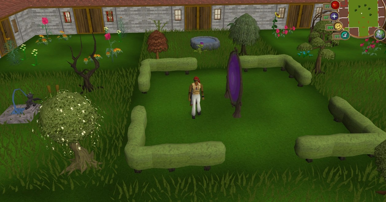 formal garden runescape