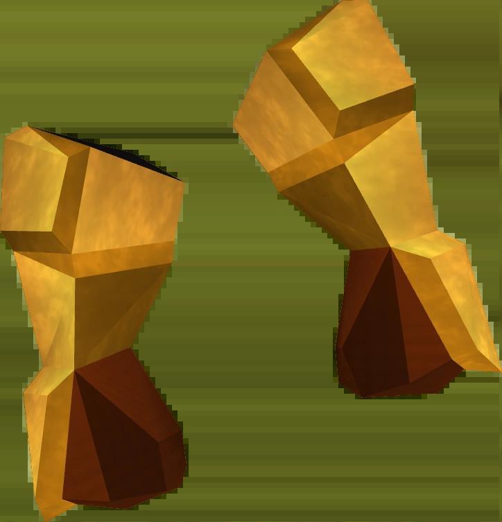 golden mining gloves runescape