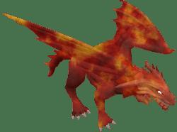 lava dragon runescape fan