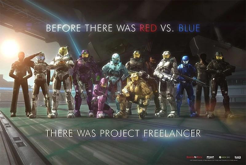 the project freelancer saga
