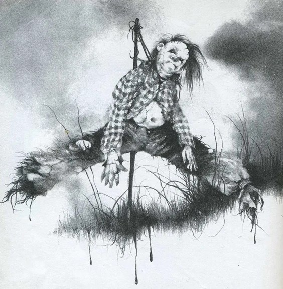 harold scary stories to