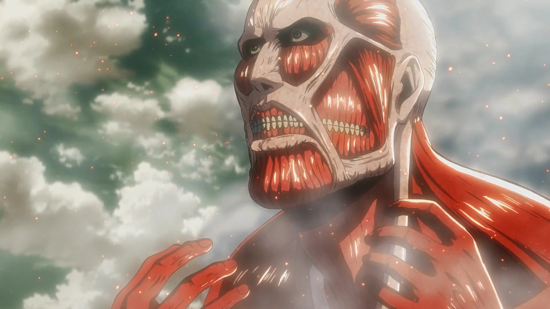 Attack On Titan Colossal Titan Wall - Year of Clean Water