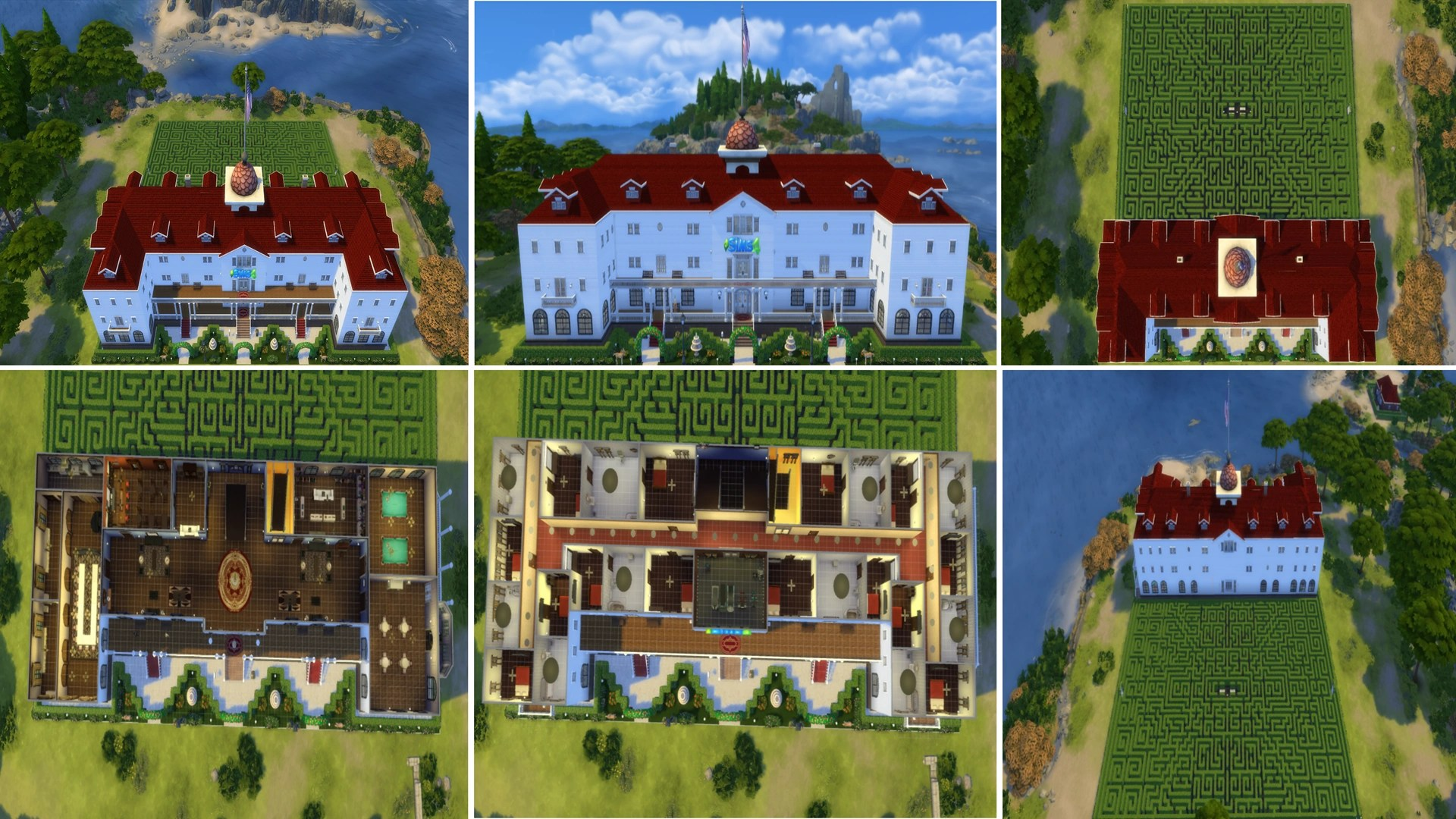 Stanley Hotel The Sims