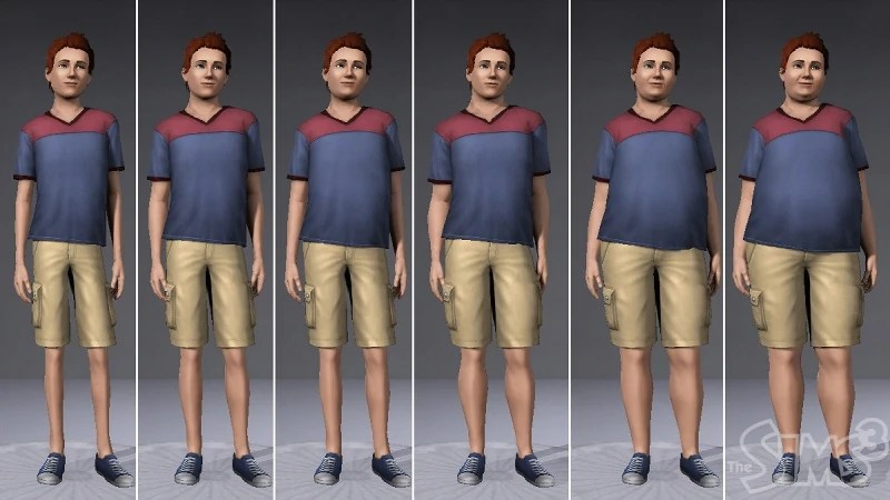 How Can A Child Lose Weight In Sims 4 Gallery