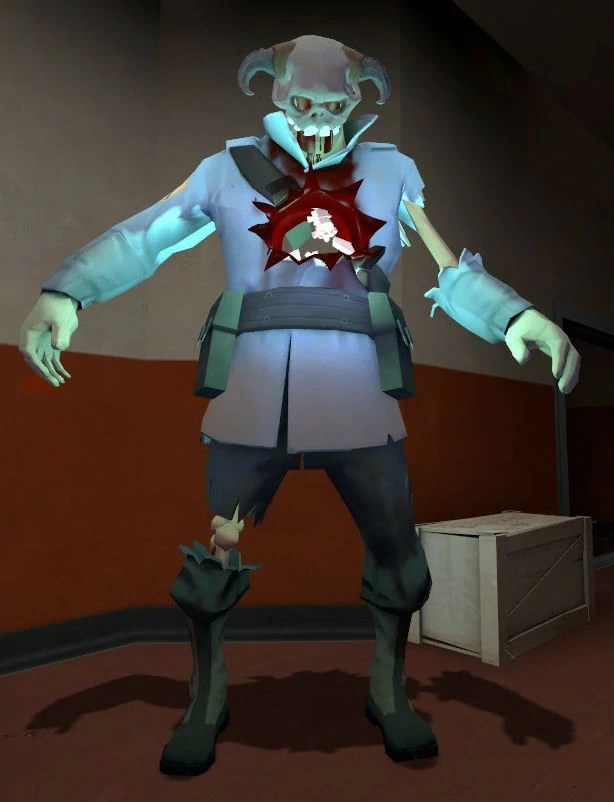 giant zombie soldier slender