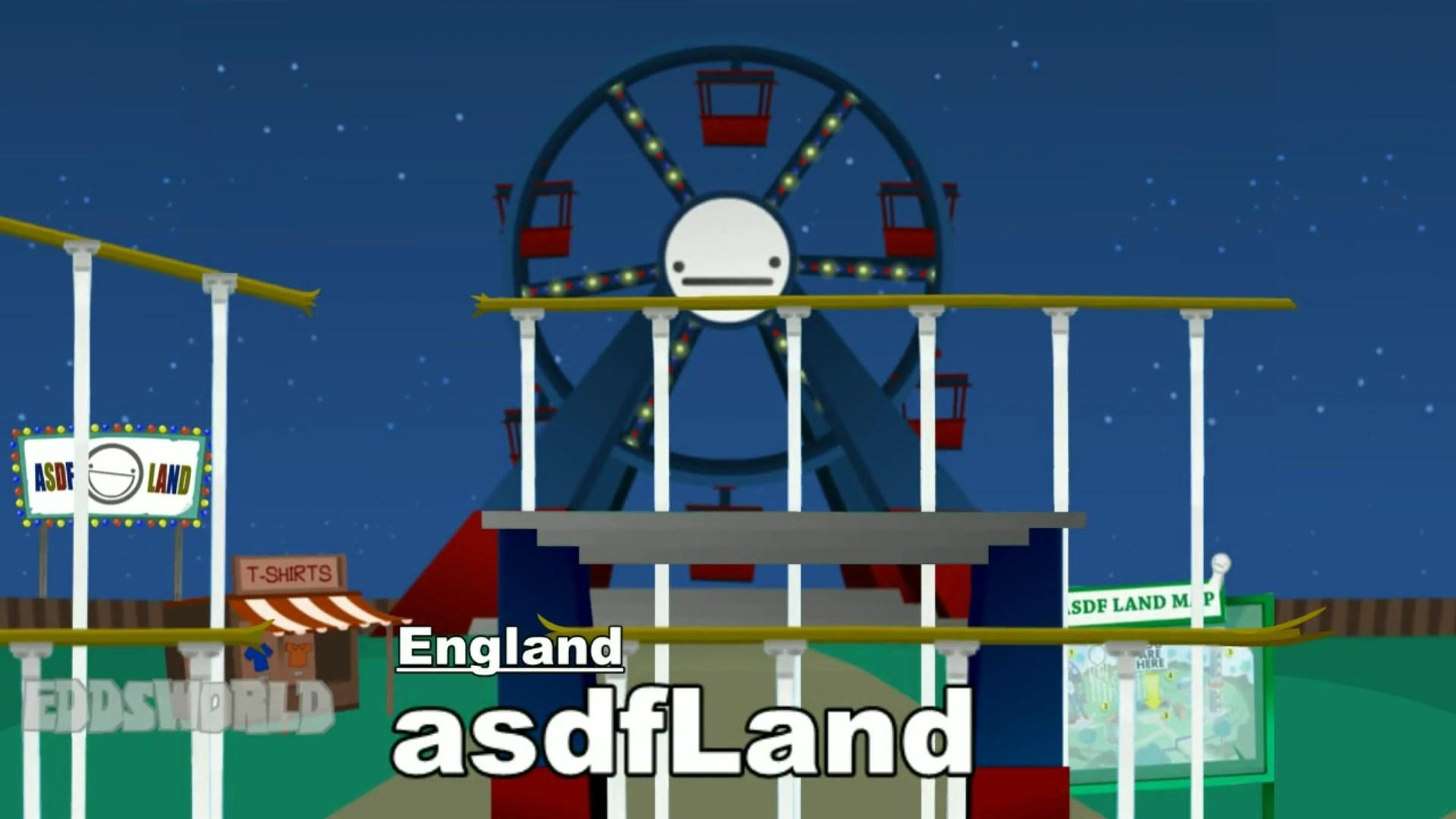 asdf land smash bros