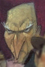 The Bald Man With The Long Nose Lemony Snicket Wiki