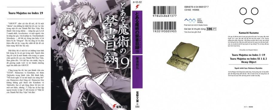 Toaru Majutsu no Index Volume 19   Sonako Light Novel Wiki   FANDOM powered by Wikia