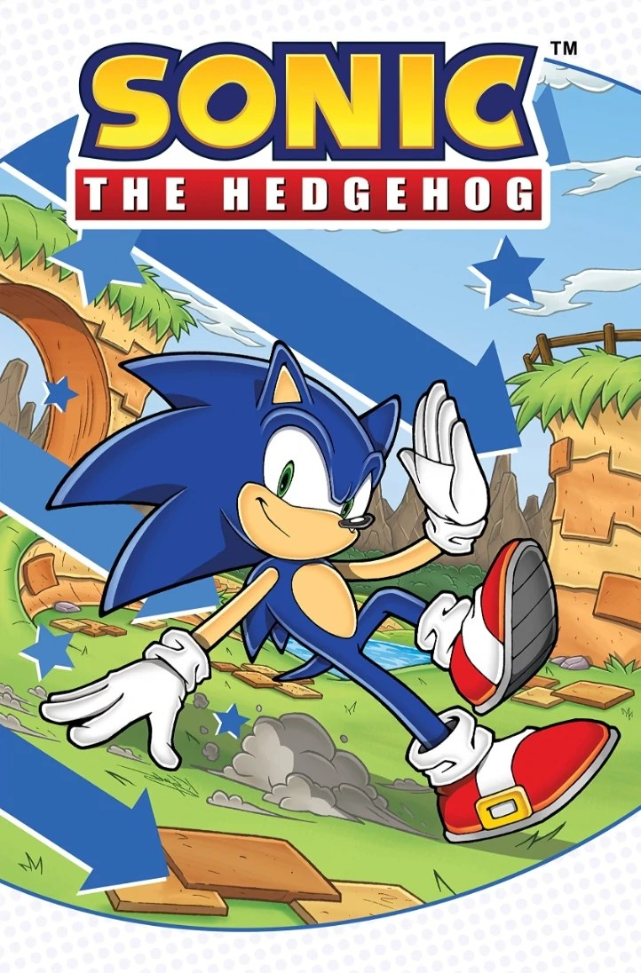 Sonic The Hedgehog Idw Trade Paperback Series Sonic