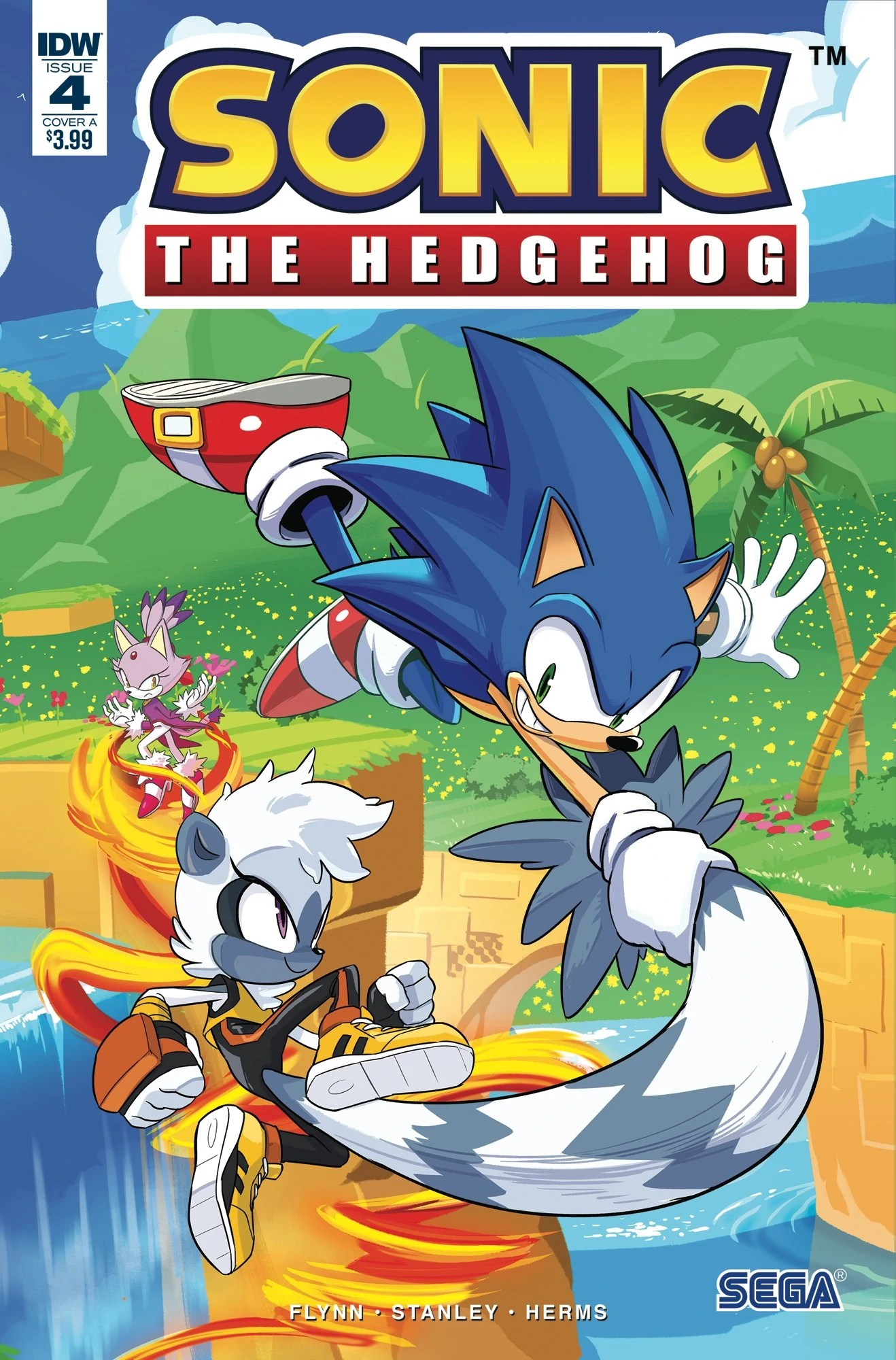 Idw Sonic The Hedgehog Issue 4 Sonic News Network