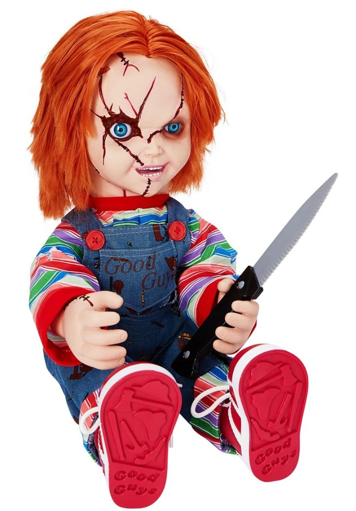 Talking Chucky Doll Spirit Halloween Wikia Fandom