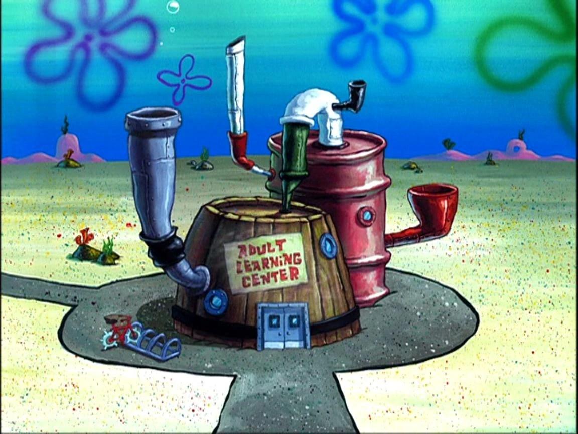 Spongebob Bikini Bottom Buildings