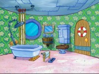 Image - SpongeBob's bathroom in That Sinking Feeling.png ...