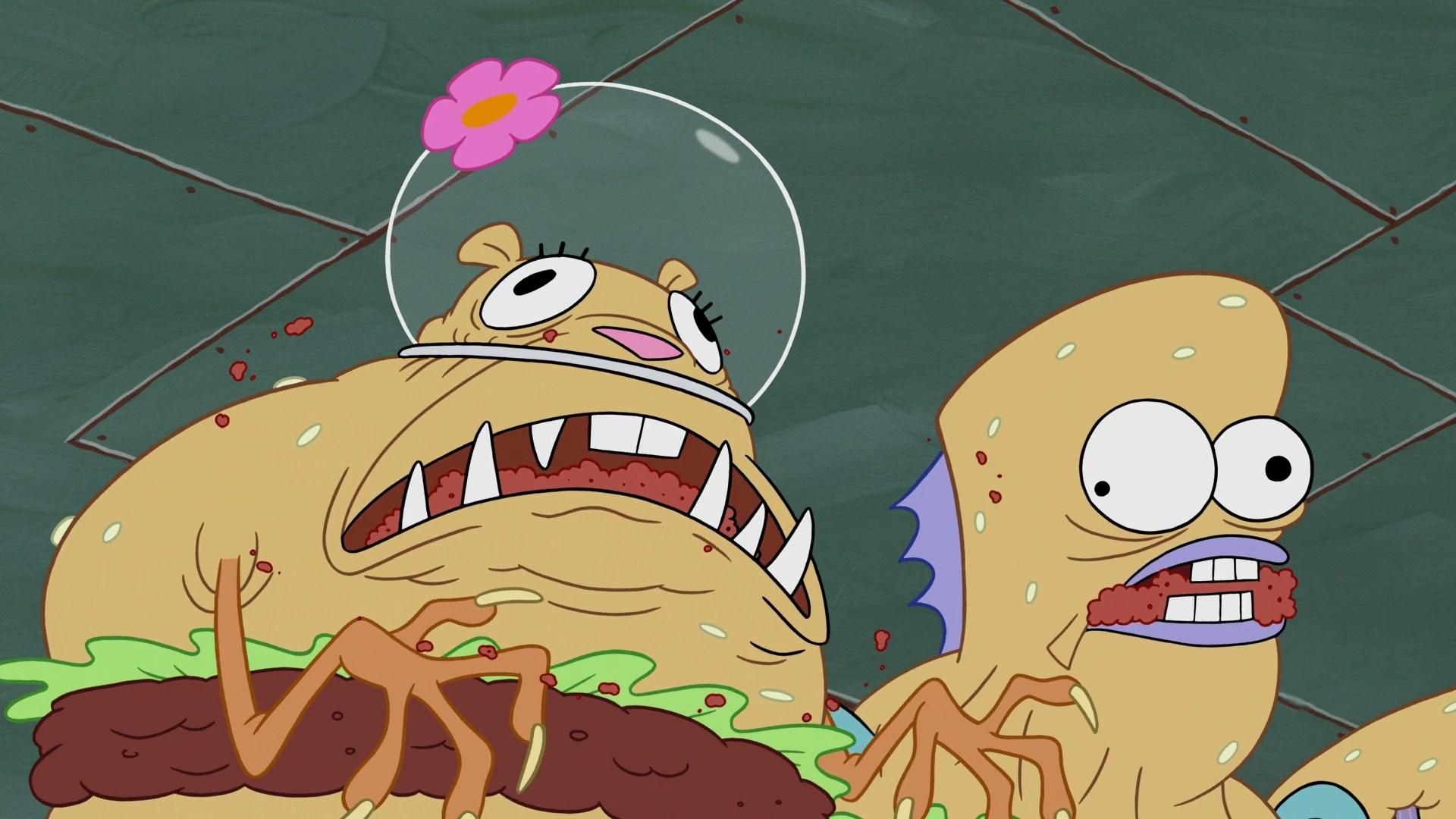 spongebob krabby patty creature feature episode