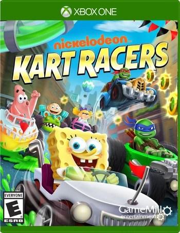 Nickelodeon Kart Racers Encyclopedia Spongebobia