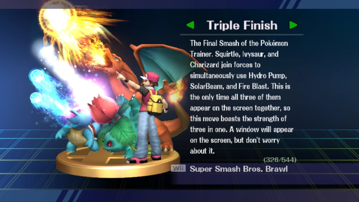 Triple Finish Smashpedia FANDOM Powered By Wikia
