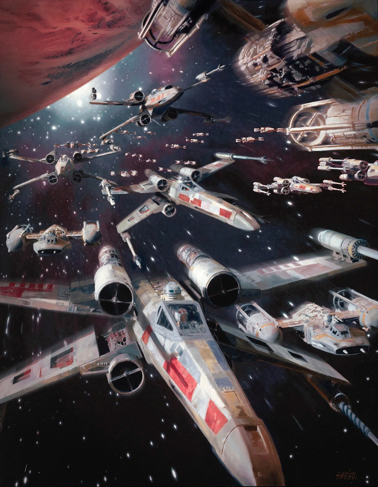 Star Wars X-Wing Battle