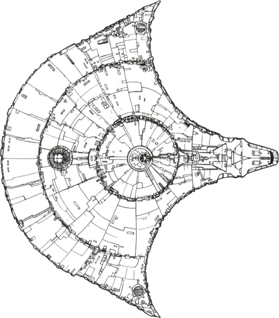 hight resolution of the claw kazellis class light freighter