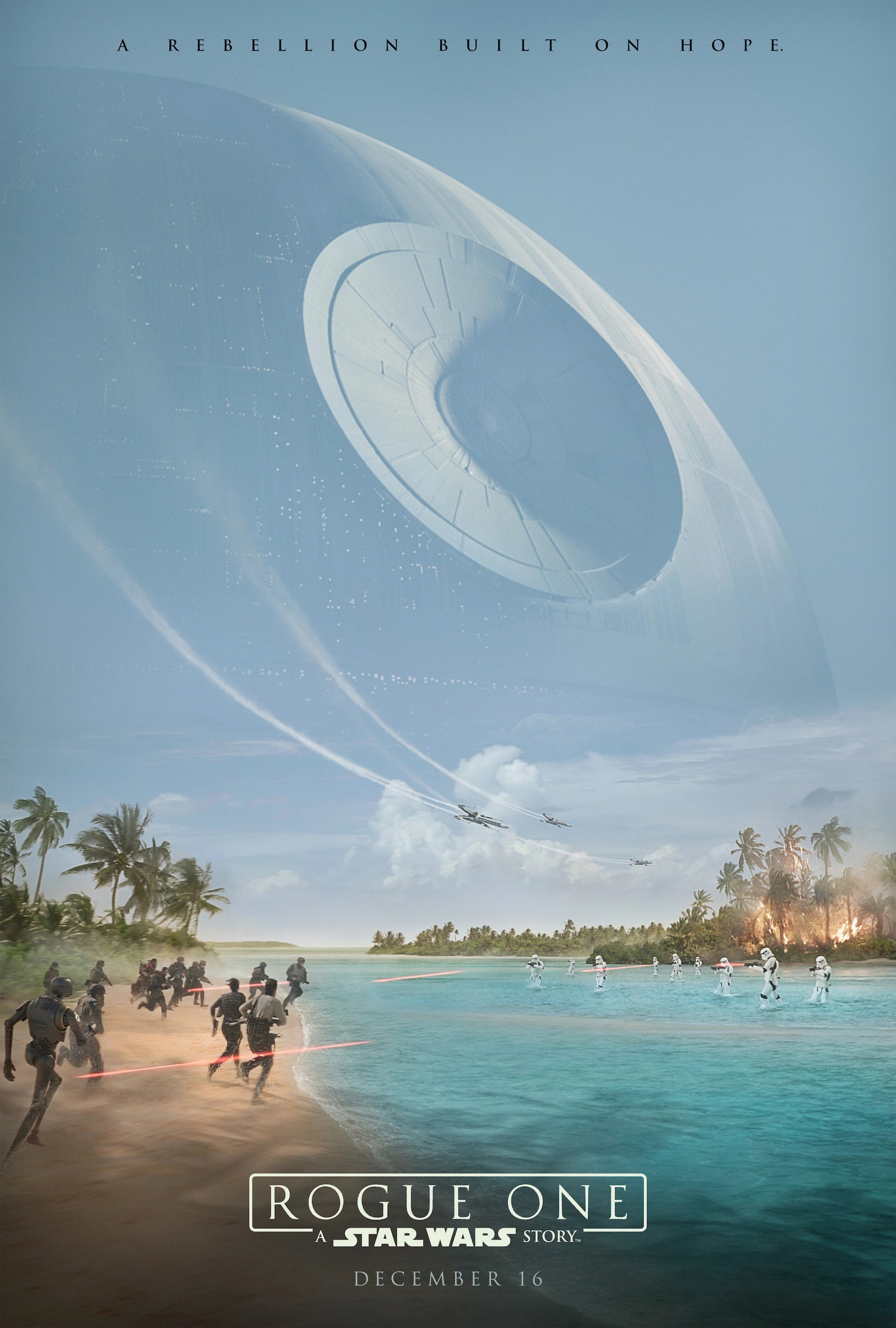 rogue one poster coming new in dec 2016
