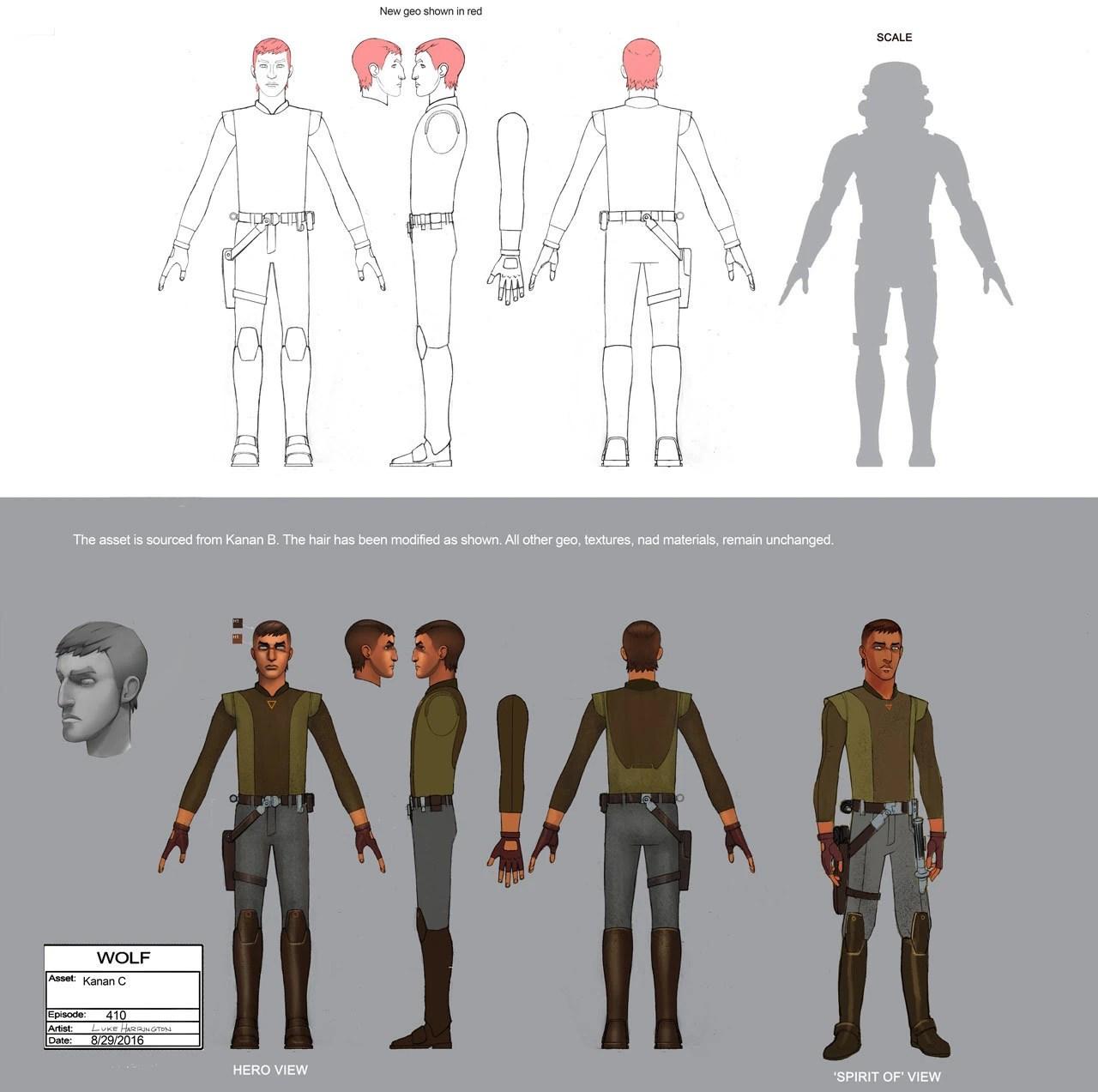 Jedi Night Concept Art Star Wars Rebels
