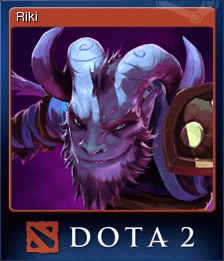 Dota 2 Riki Steam Trading Cards Wiki FANDOM Powered