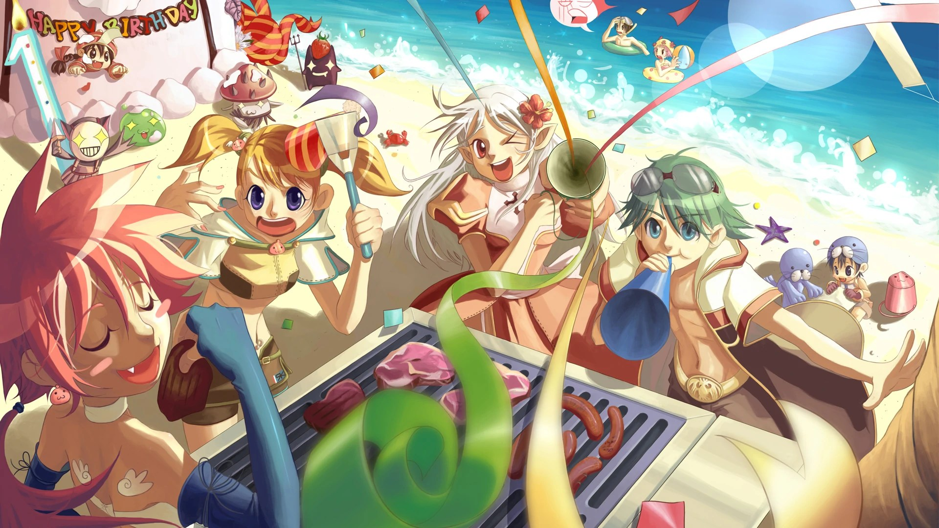 Ragnarok Online European Version  Birthday Party  Steam
