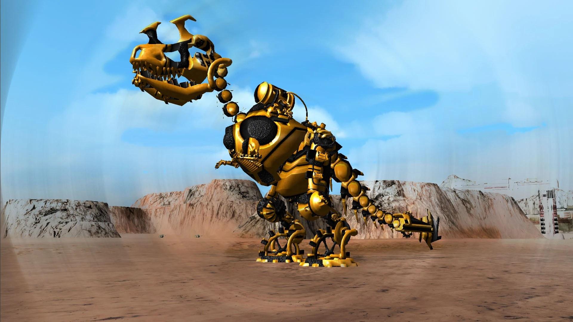 battletank loba mecha rex