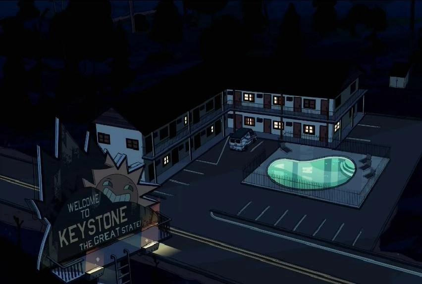keystone motel steven universe