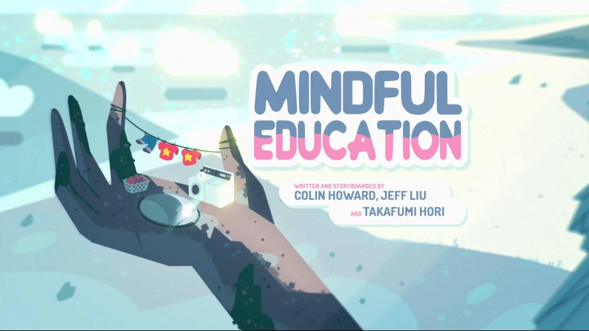 mindful education steven universe