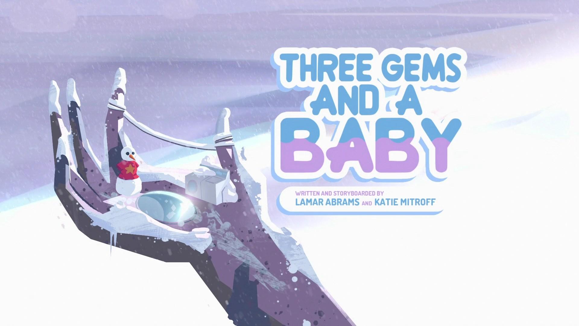 three gems and a