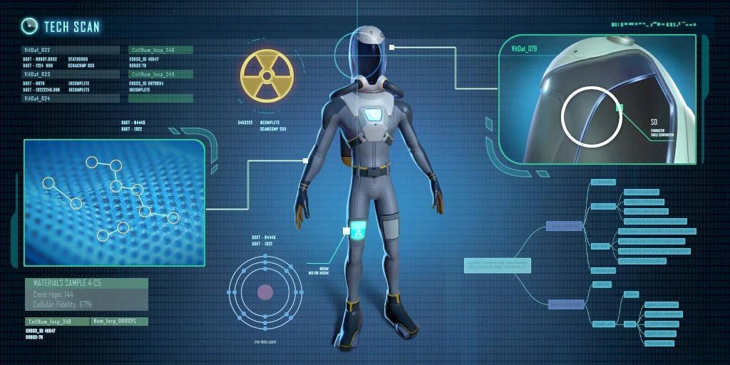 radiation suit subnautica wiki