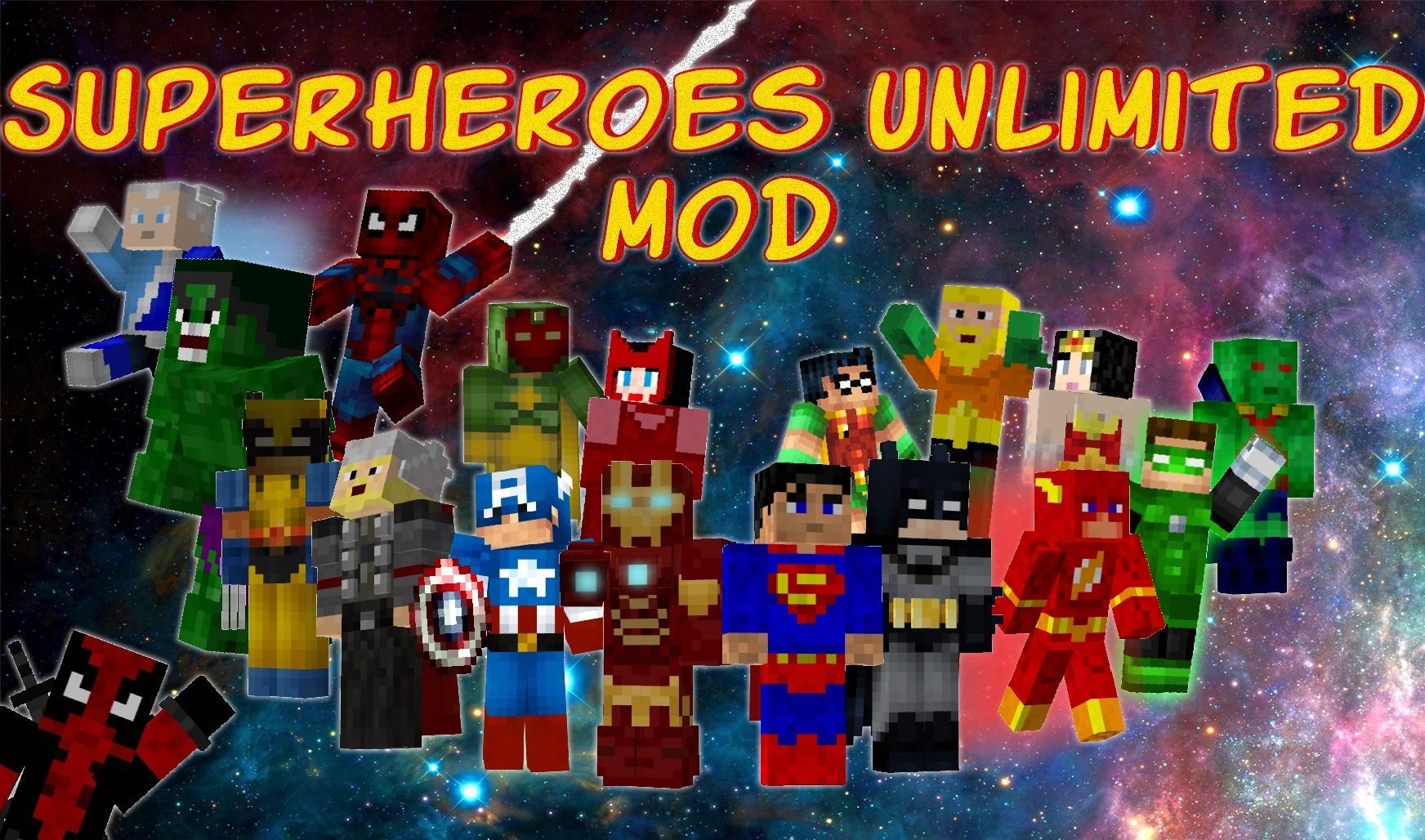 superheroes unlimited minecraft legends