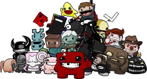Unlockable Characters Super Meat Boy Wiki FANDOM
