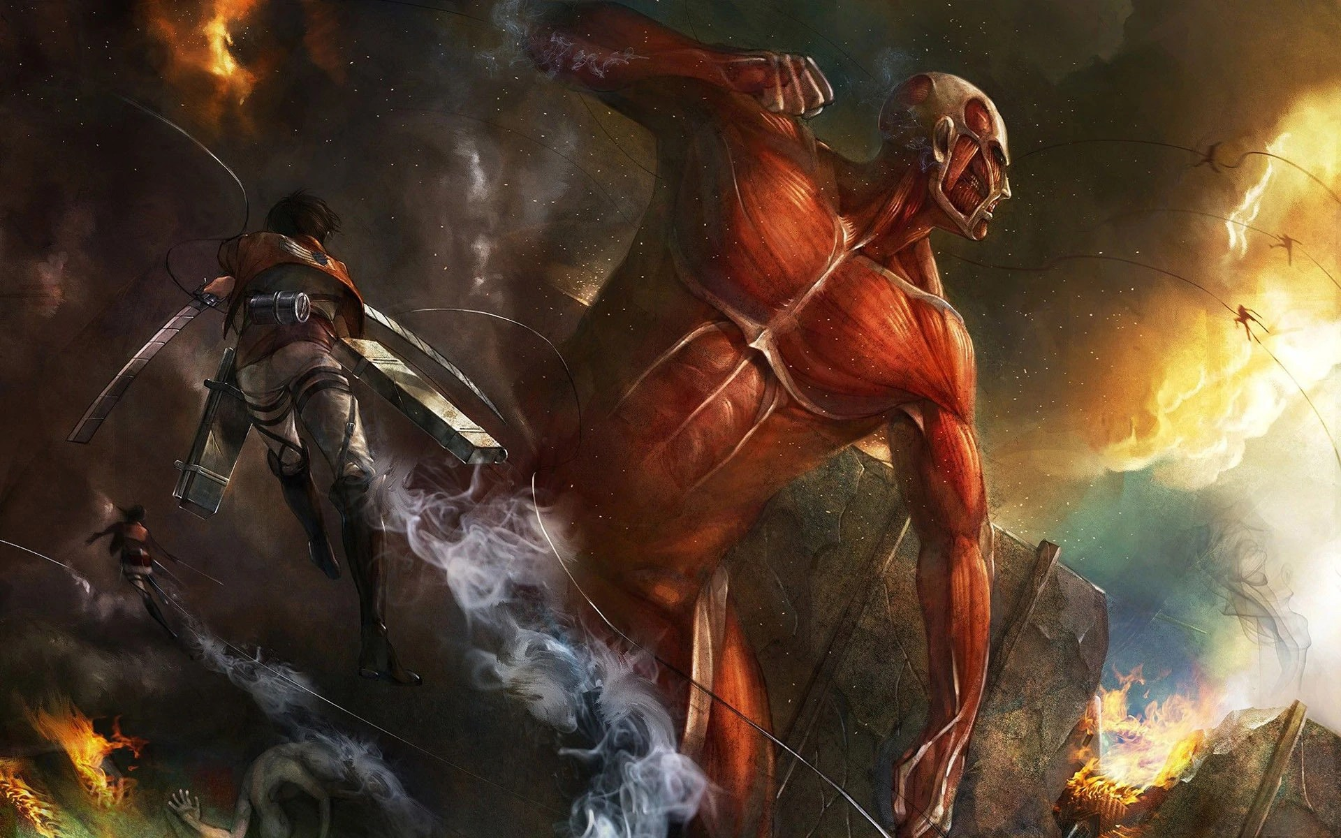 Check out these 13 fun facts. Image - Attack-on-titan-anime-hd-wallpaper-1920x1200-2341 ...