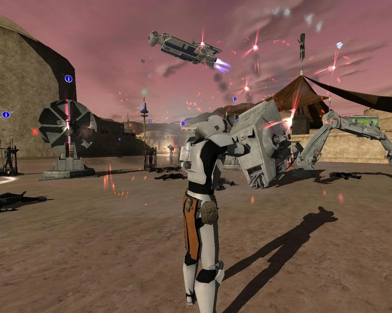 Star Wars Galactic Civil War Map