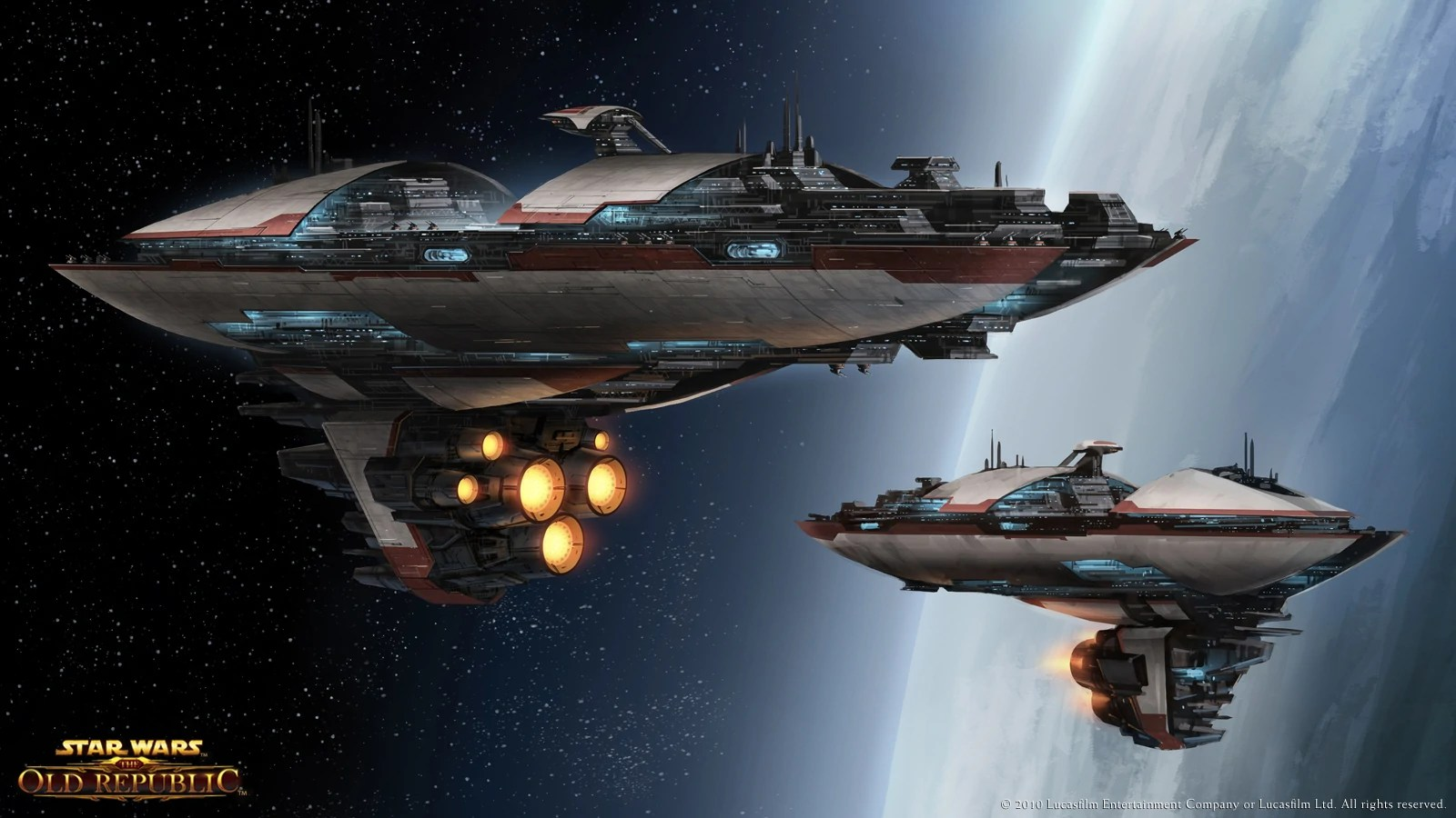 Star Wars Old Republic Capital Ship