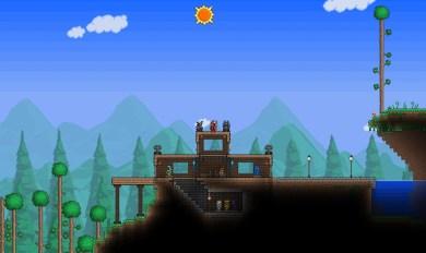 Terraria Wooden Bridge | Wooden Thing