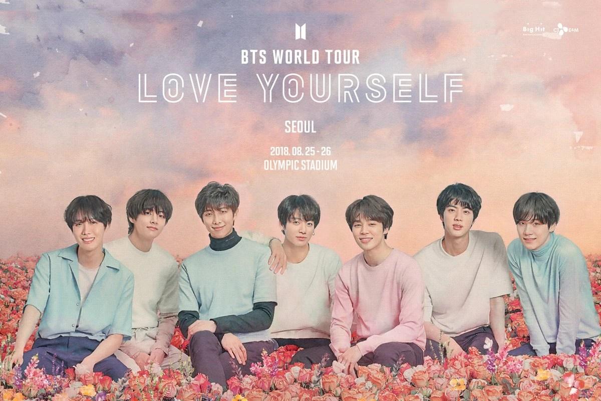 BTS World Tour Love Yourself BTS Wiki FANDOM Powered