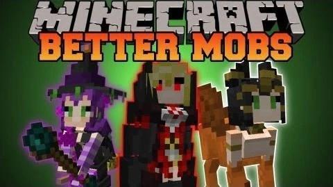 Moe Anime Girl Wallpaper Video Minecraft Better Mobs Tons Of Mobs Merchants