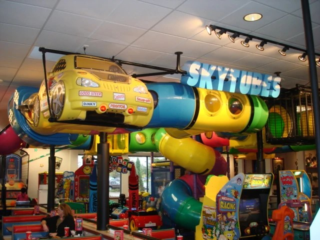 Family Restaurants Play Area Near Me