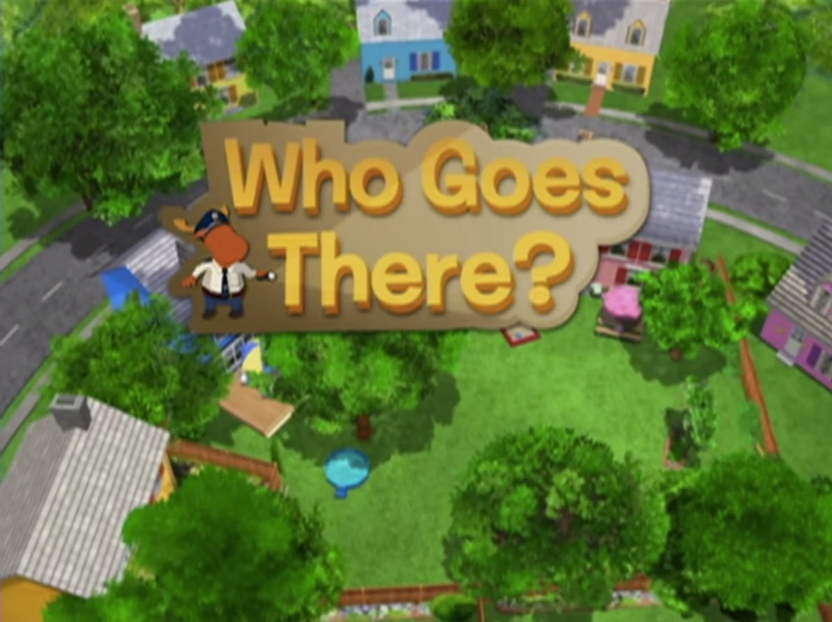 Who Goes There  The Backyardigans Wiki  FANDOM powered