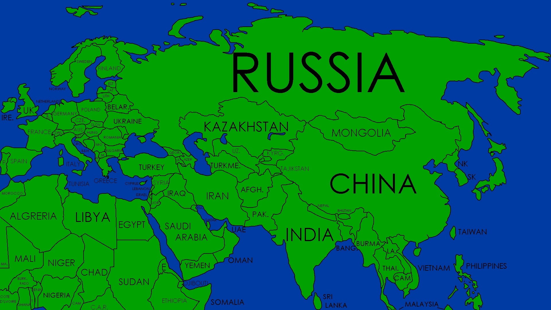Countries In Afro Eurasia - Year of Clean Water on map of ur, map of british isles, map of european russia, map of australia, map of antarctica, map of eurasia with countries, map of americas, map of northern eurasia countries, map of africa, map of continent, map of oceania, map of eurasia only,