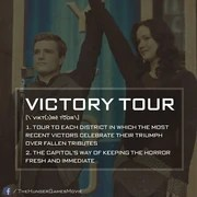 Victory Tour The Hunger Games Wiki Fandom Powered By Wikia