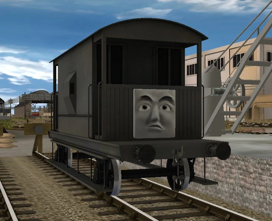 Thomas Cgi Trainz Flatbed