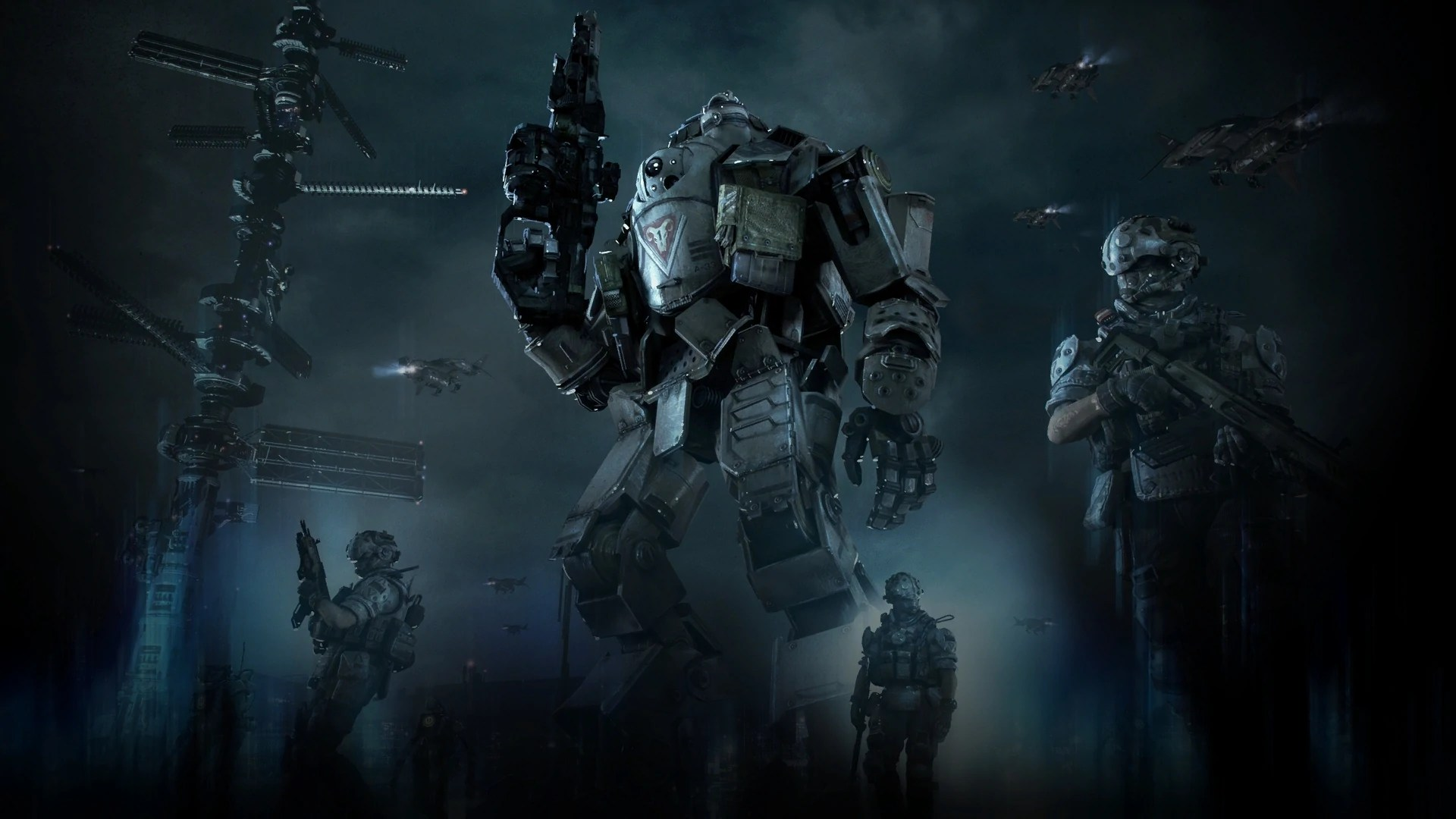 Fall 1080p Wallpaper The Three Towers Titanfall Wiki Fandom Powered By Wikia