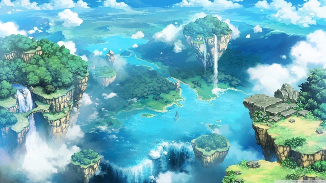 Image - Cirrus Island Range.jpg | Toriko Fan Fiction Wiki ...