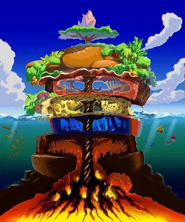 Megamori Island Toriko Wiki Fandom Powered By Wikia