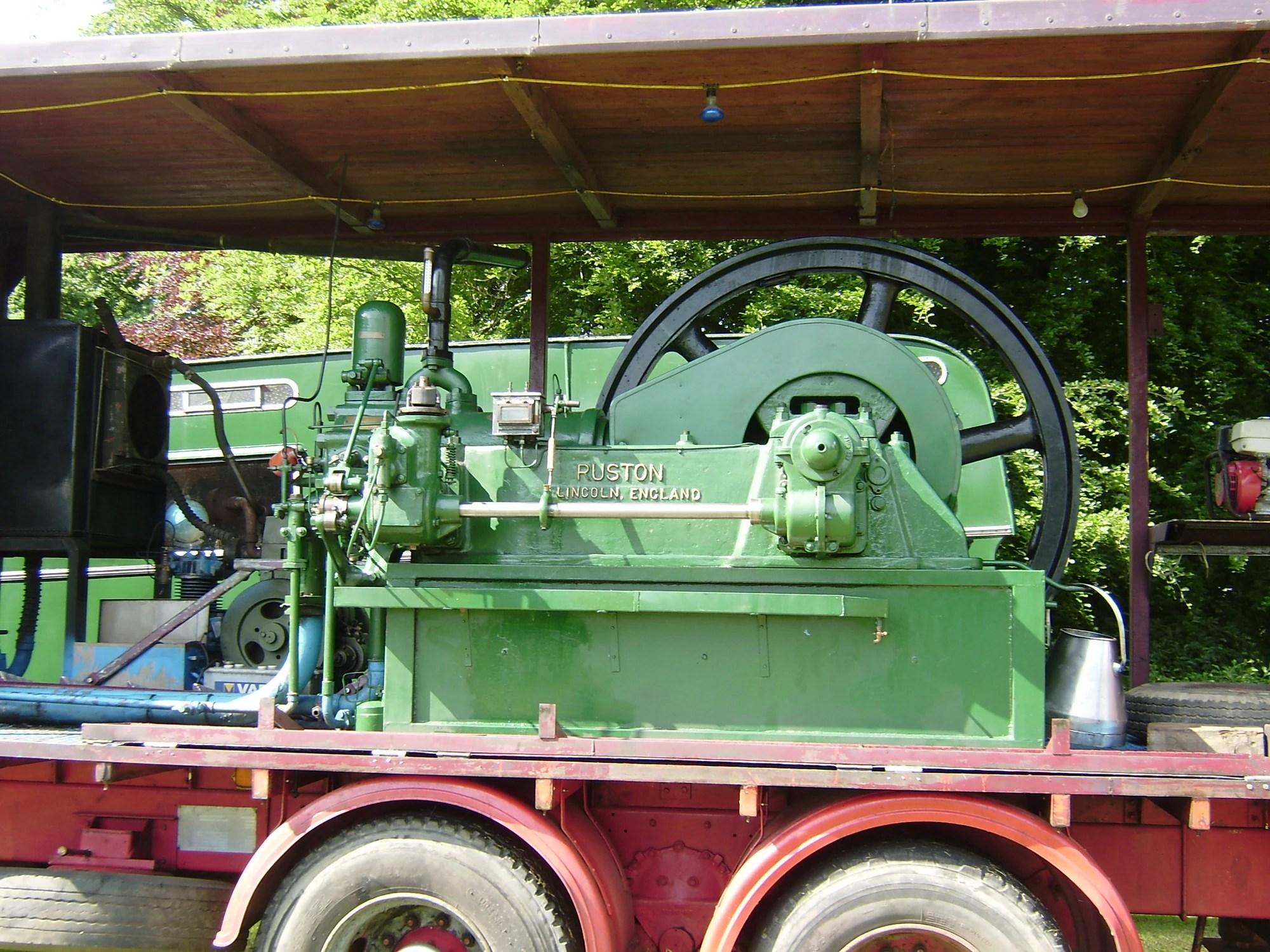 Ruston Diesel Engine India